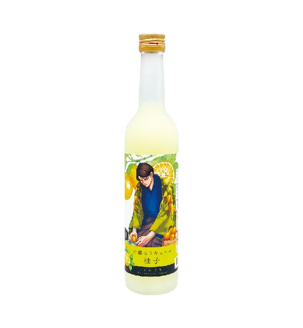 古都利口酒  柚子 500ml