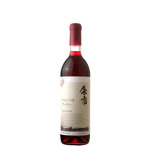 余市 刊貝爾紅葡萄酒 720ml