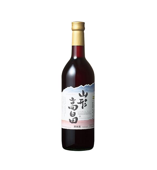 山形高畠 胭脂紅葡萄酒 720ml