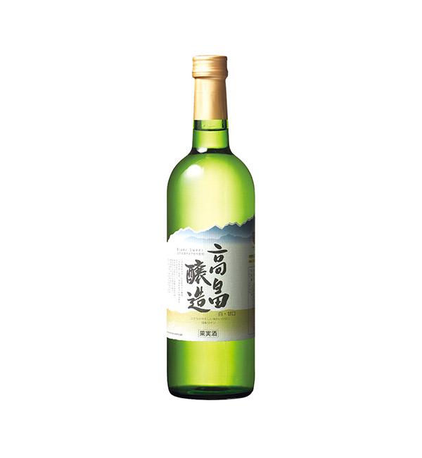 山形高畠 清甜白葡萄酒 720ml
