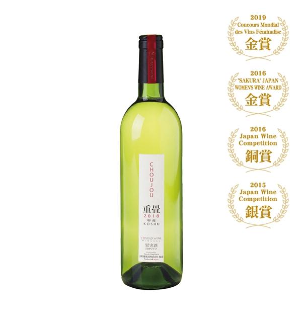 大和 重疊 甲州白葡萄酒 750ml