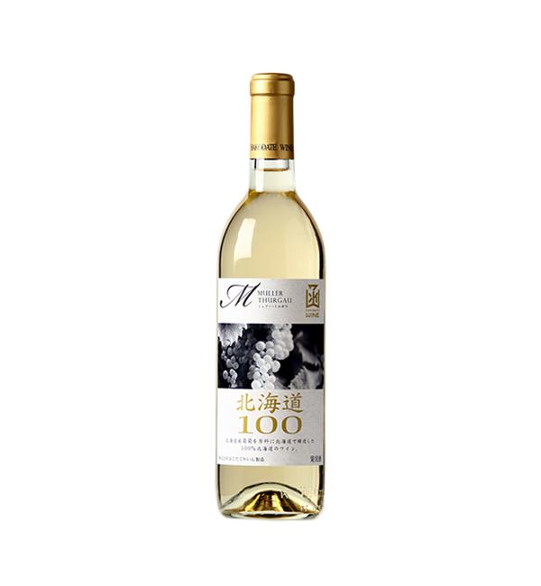 函館 北海道100米勒托高 白葡萄酒 720ml
