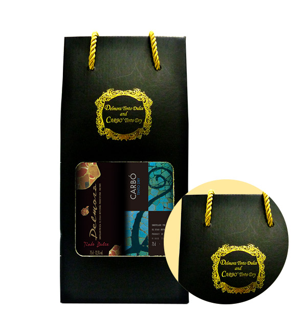 西班牙 卡爾波+黛摩拉 紅葡萄酒 2入禮盒