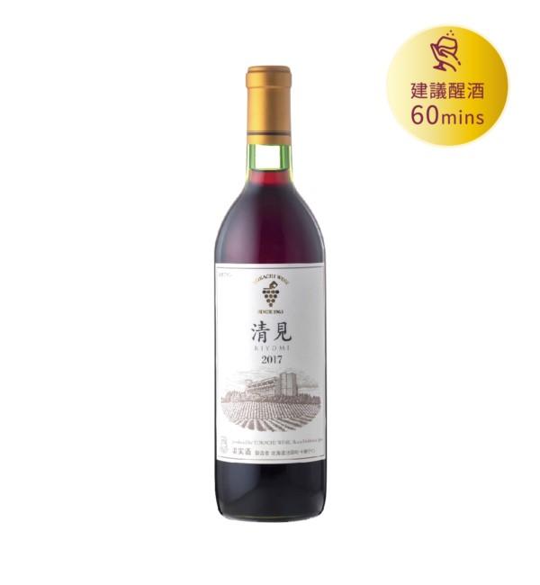 十勝 清見紅葡萄酒 720ml
