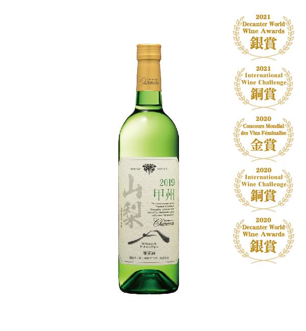 盛田甲州 Chanmoris甲州白葡萄酒 750ml