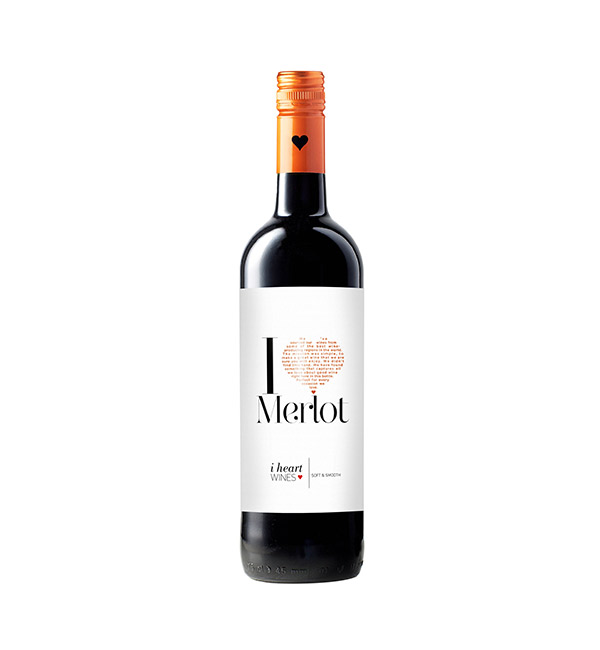 i heart 梅洛 紅葡萄酒 750ml