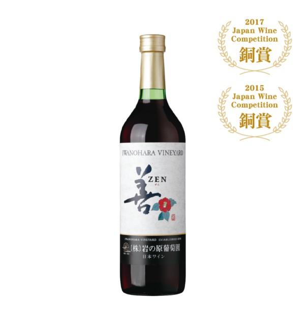 岩之原 善紅葡萄酒 720ml