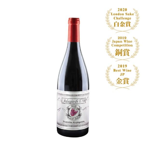 Adagio di茅岳 麝香貝利A紅葡萄酒