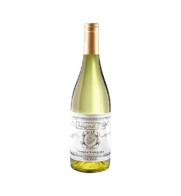 Adagio di茅岳 甲州白葡萄酒 750ml