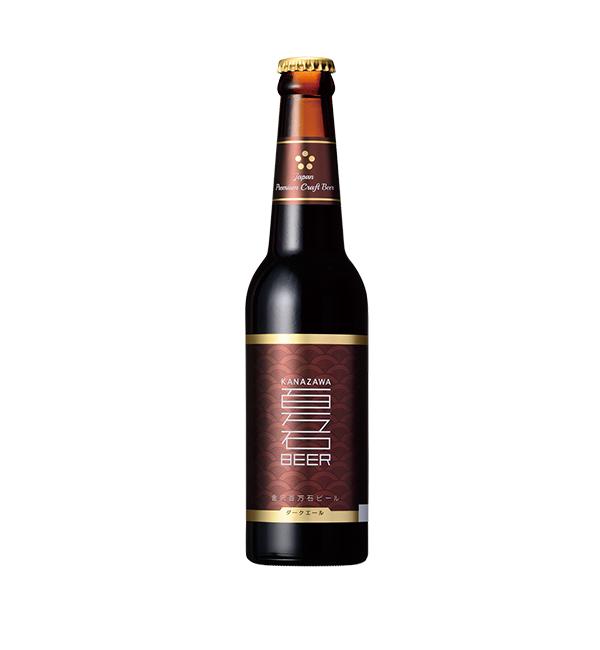 金澤百萬石 黑愛爾啤酒 330ml