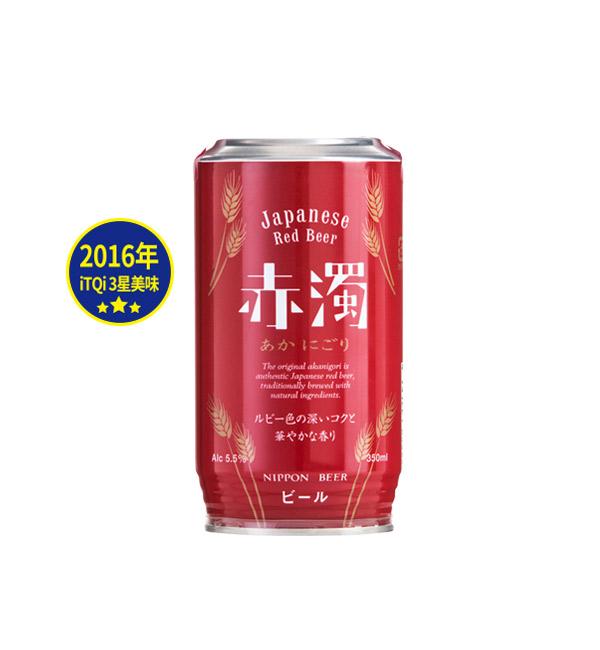 Nippon Beer 赤濁紅愛爾啤酒 350ml(24入)