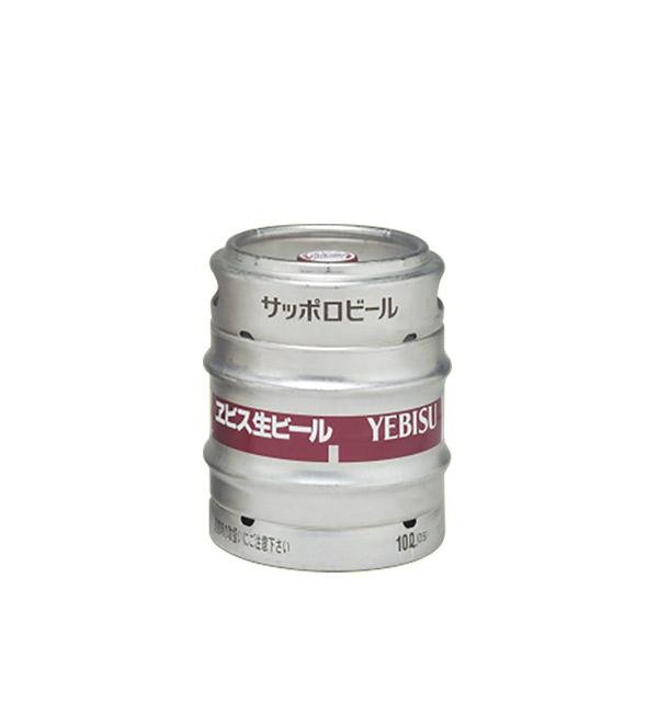 YEBISU 惠比壽 桶裝生啤酒 10L