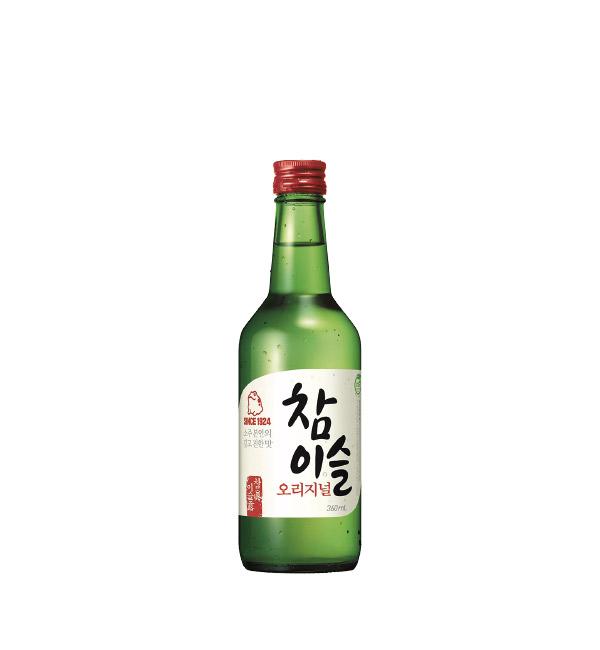 韓國真露燒酒 (紅蓋) 360ml