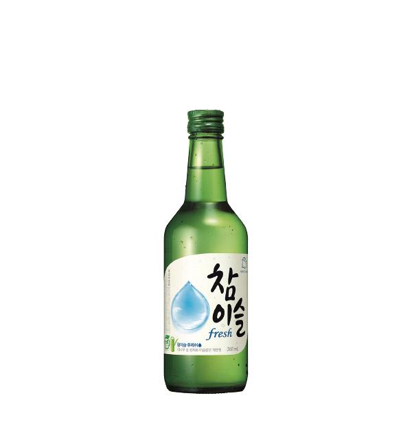 韓國真露燒酒 FRESH 360ml