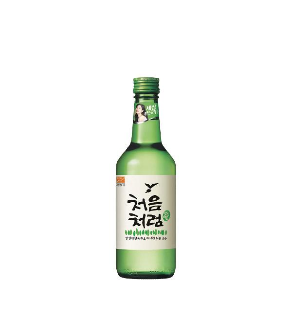 韓國樂天 初飲初樂燒酒 360ml