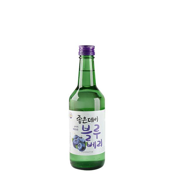 韓國GOOD DAY燒酒 藍莓風味 360ml