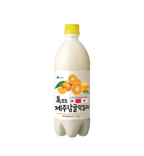 WOORISOOL馬格利酒 柑橘風味 750ml