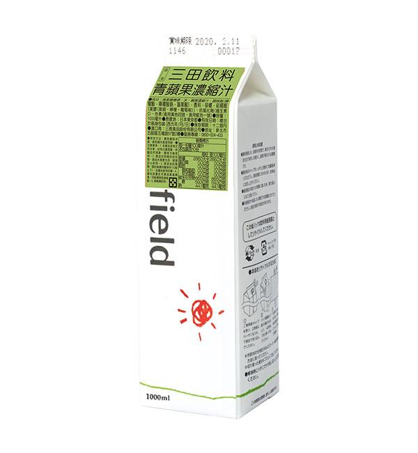 三田飲料 青蘋果濃縮汁 1000ml