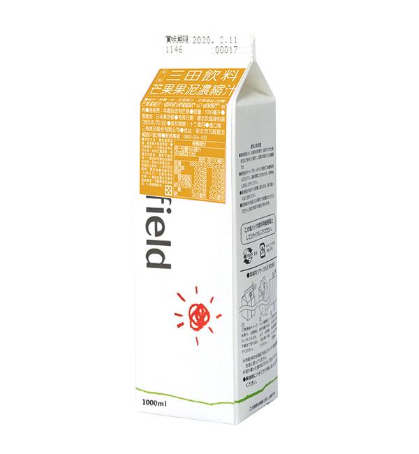 三田飲料 芒果果泥濃縮汁 1000ml