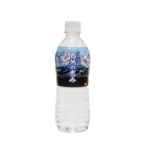 信州安曇野天然水 自然的恩惠 500ml(24入)