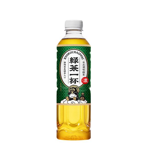 綠茶一杯 日式濃味綠茶 520ml (24入)