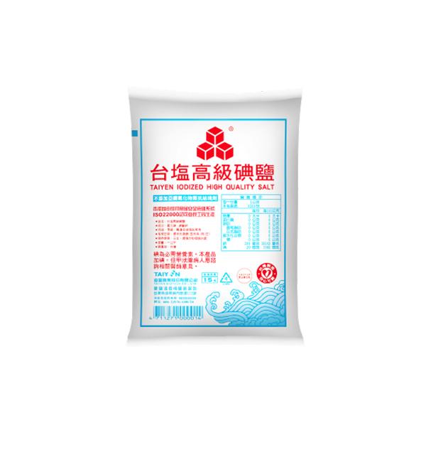 台鹽 高級碘鹽1kg
