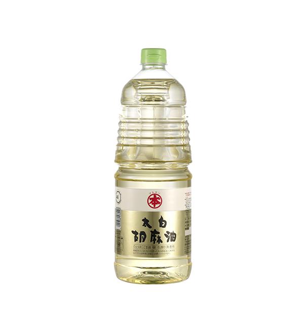 竹本 太白胡麻油 1800ml