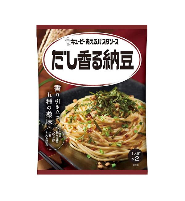 KEWPIE 調味義大利麵醬 和風納豆 60g(30gx2份)