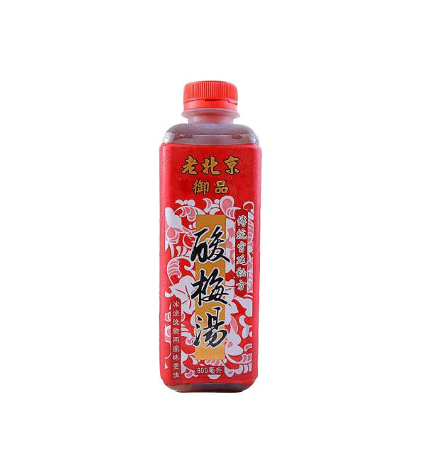 老北京御品酸梅湯 900ml(12瓶/箱)