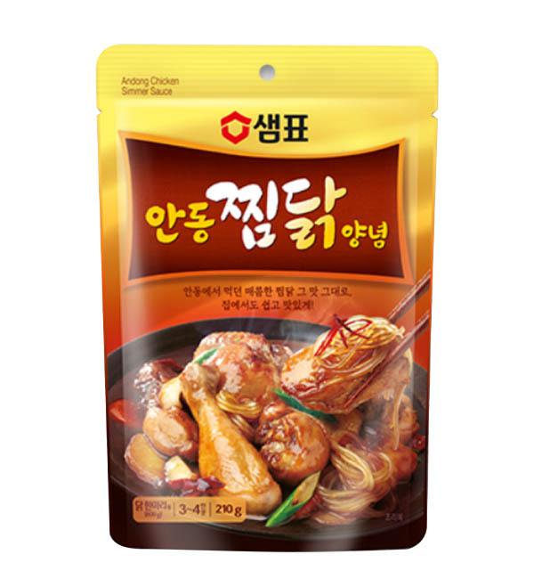 膳府 韓國 安東雞風味湯底 210g