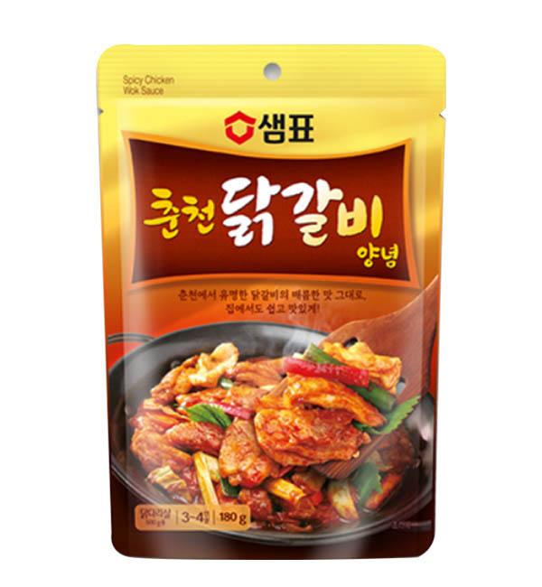 膳府 韓國 春川辣炒雞風味湯底 180g<br />
