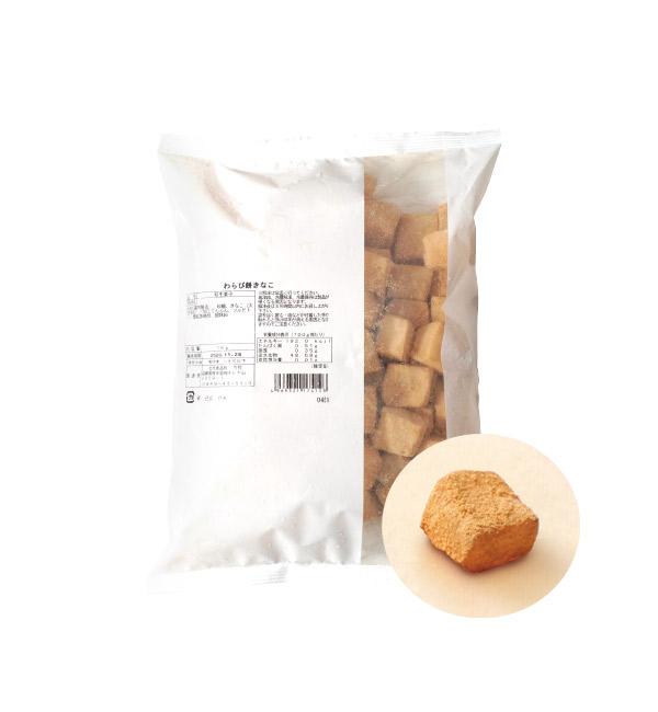北九食品 蕨餅風味和菓子 原味 1kg