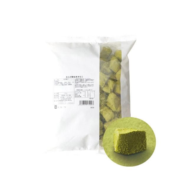 北九食品 蕨餅風味和菓子 抹茶 1kg