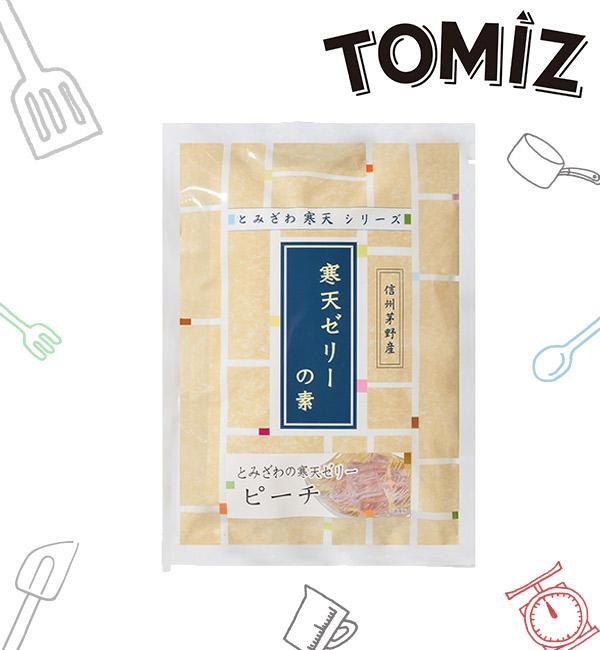 富澤商店 寒天粉 蜜桃口味 125g(2入)