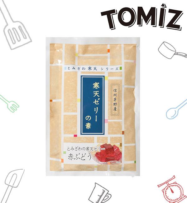 富澤商店 寒天粉 紅葡萄口味 125g(2入)