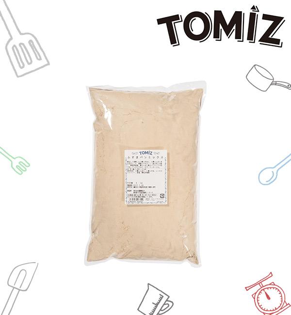 富澤商店 小麥麩麵包混合粉 1kg