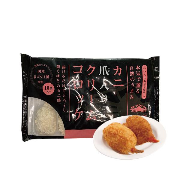 可樂餅 螃蟹奶油口味 400g(10入/包)